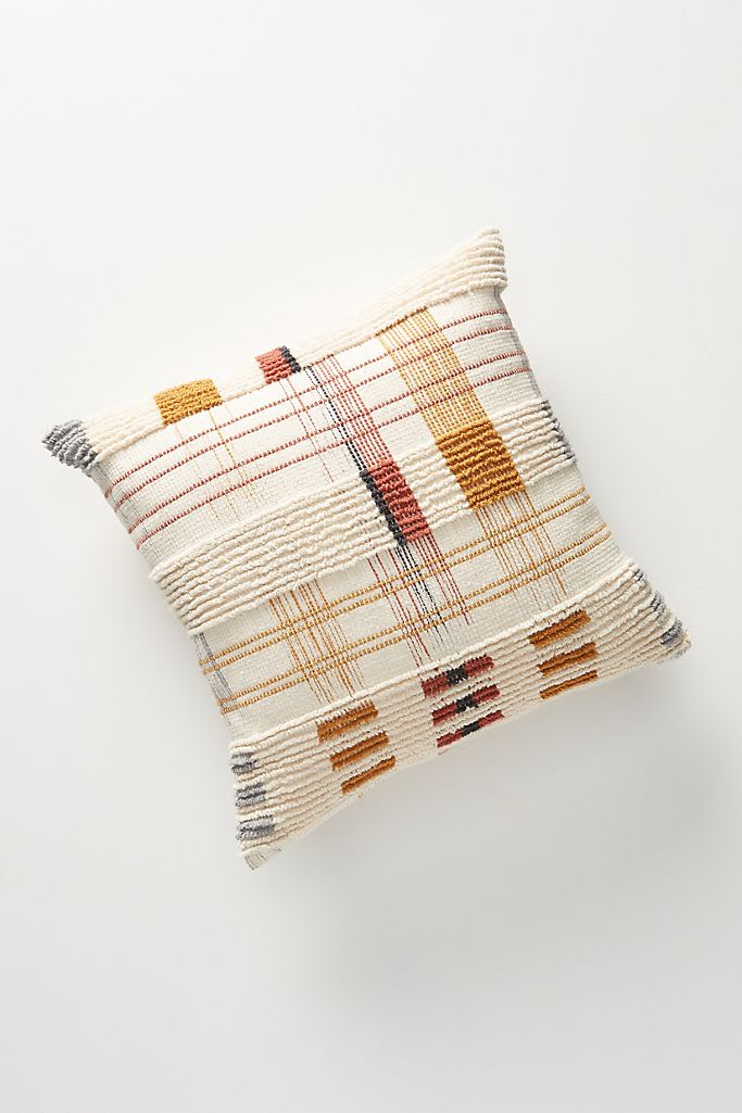 Woven Oxford Pillow from Anthropologie