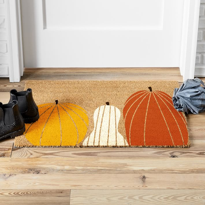Gourds Doormat from West Elm