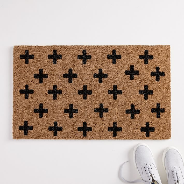 Nickel Designs Hand-Painted Doormat from West Elm