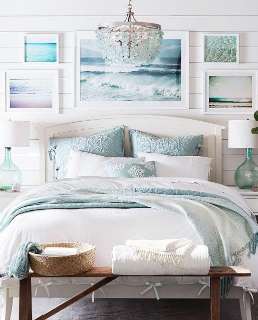 Coastal Themed Bedrooms Ideas Design, Beach Themed Furniture