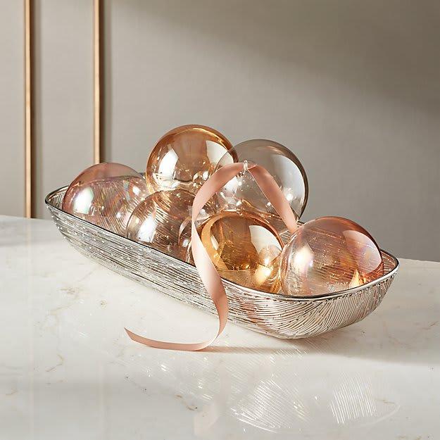 Luster Ornaments Set