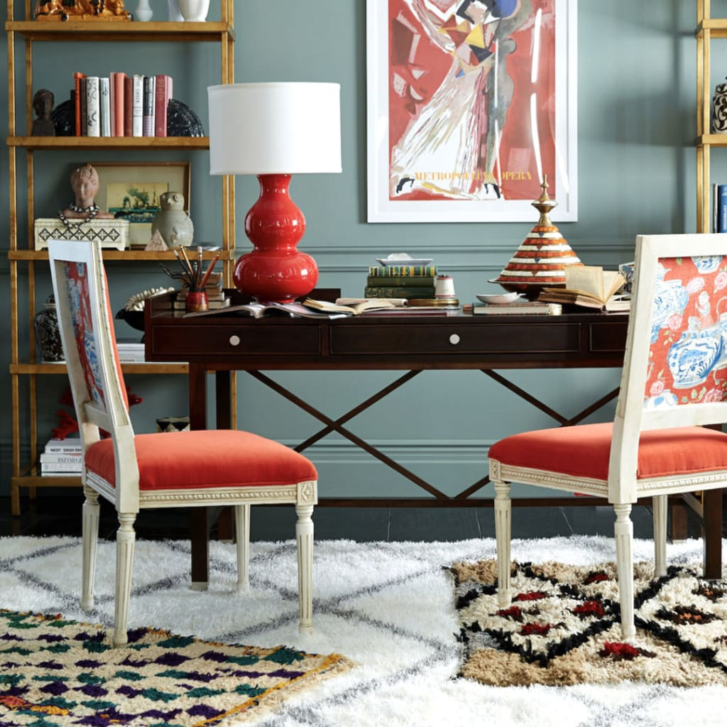 Eclectic Style Living Room