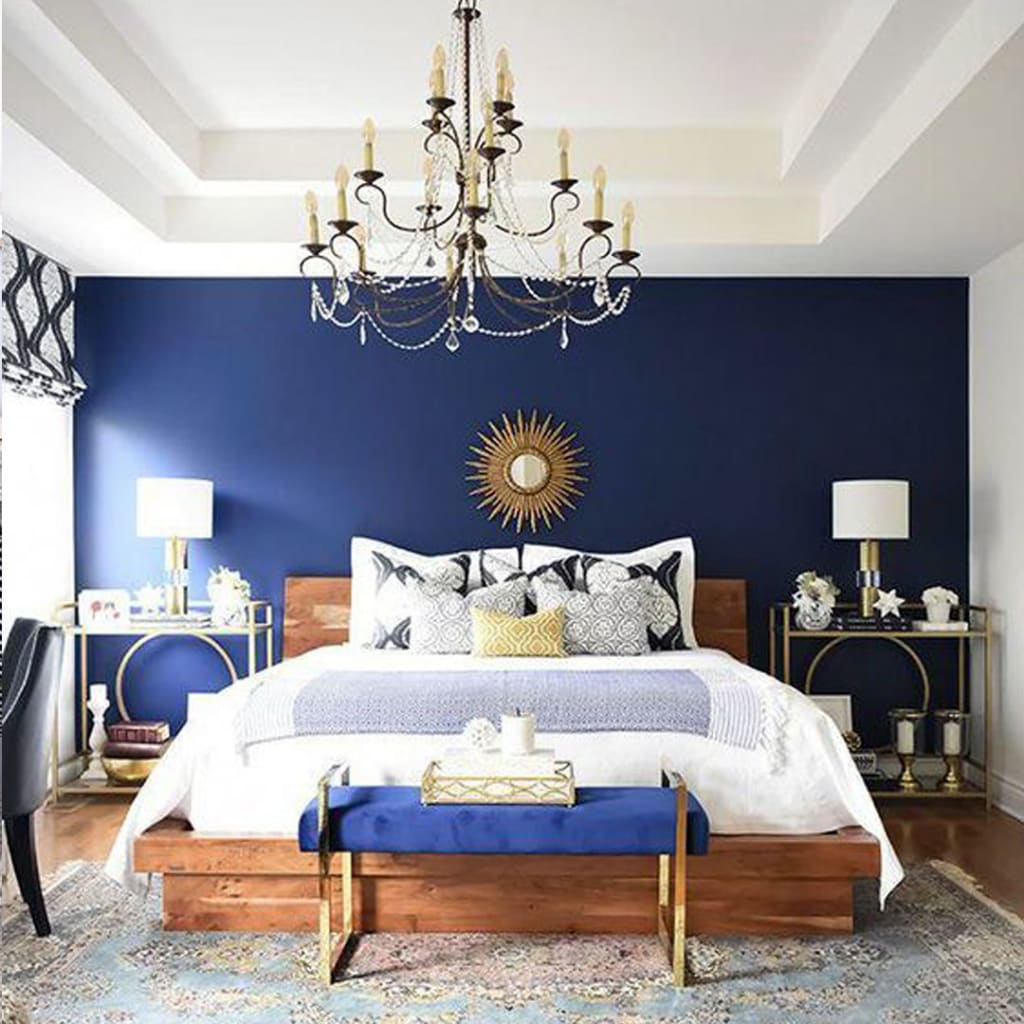 Blue Wall Paint Combinations