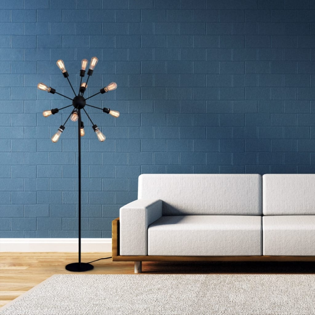 Sputnik inspired floor lamp