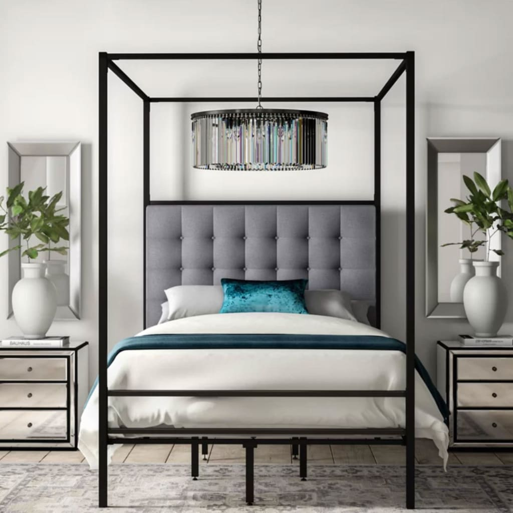 Modern-contemporary canopy bed design
