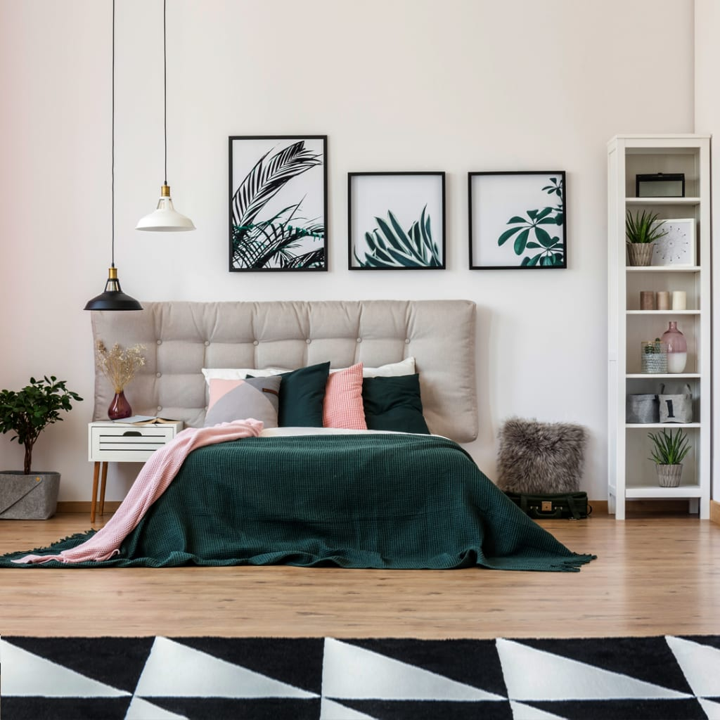 Modern-Contemporary bedroom design