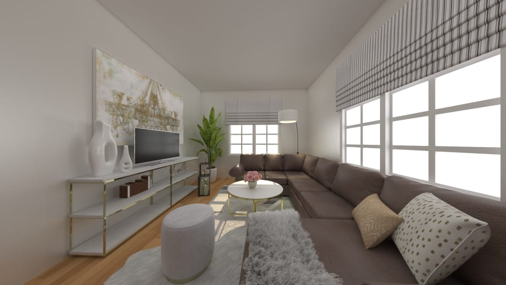 Chic Living Room Design
