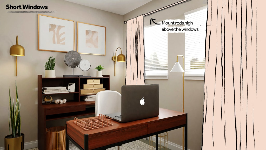 How to Style Short Windows