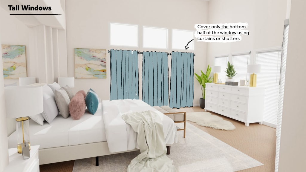 How to style Tall Windows