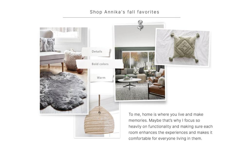 Annika Fall Favorites