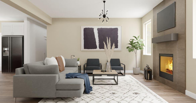 Spacejoy Modern Living Room