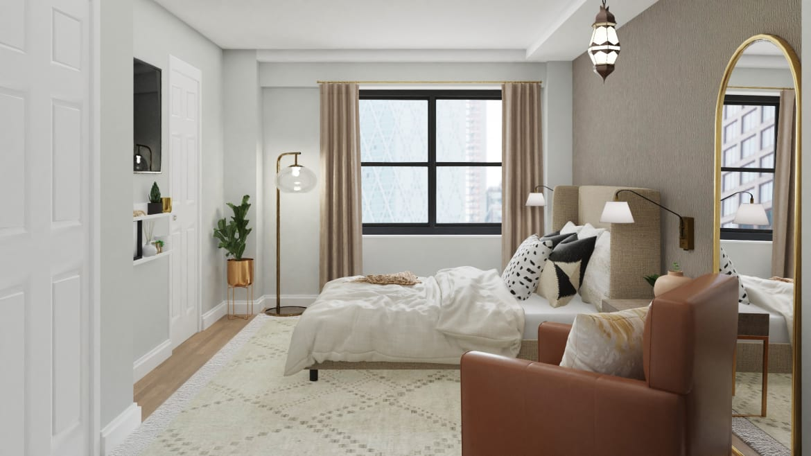 neutral bedroom design
