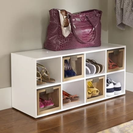 Girl Compartment Shoe Rack
