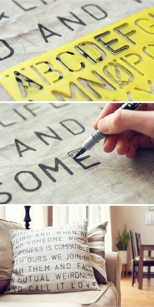 Diy Home Decor Cushion Covers