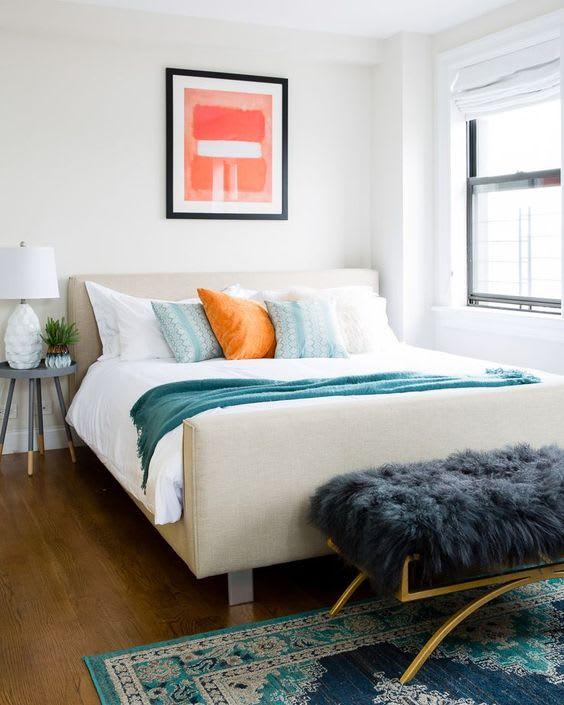 Coral Color Home Decor