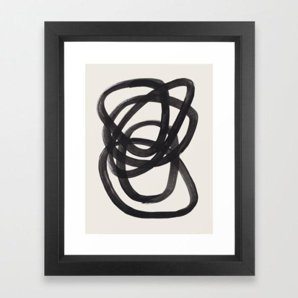 Mid-Century Modern Minimalist Abstract Art