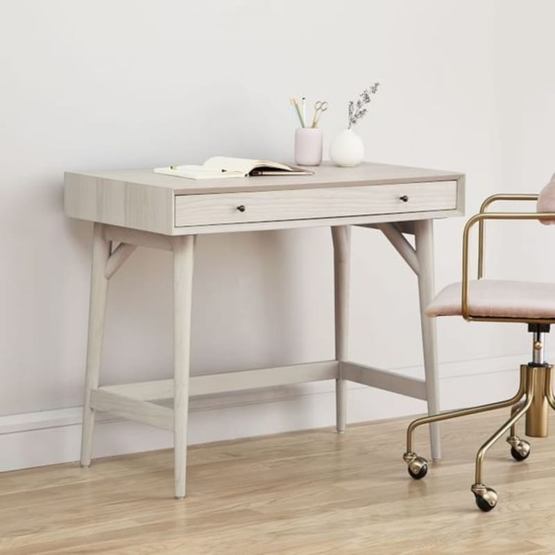 Mid-Century Modern Mini Desk From West Elm