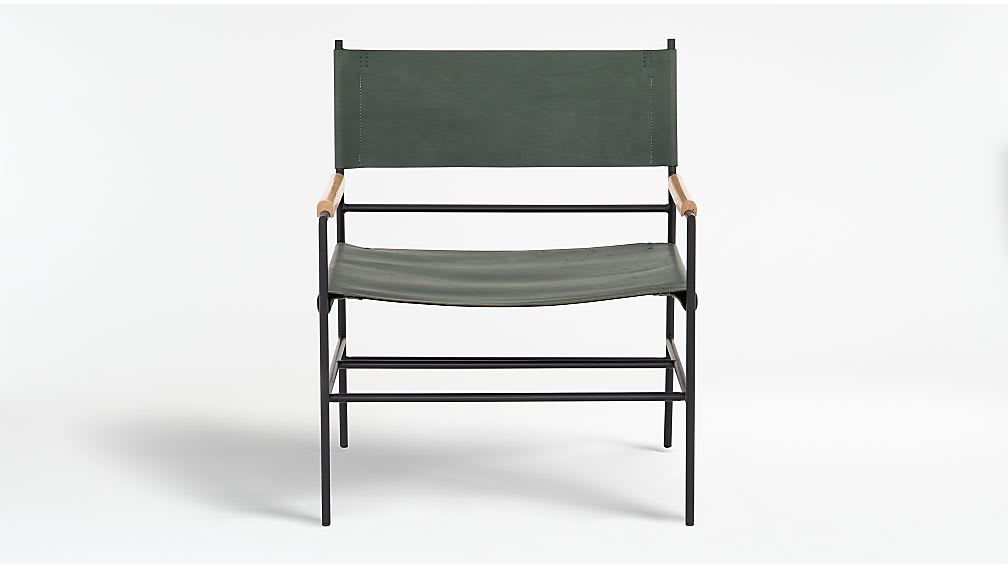 Ledger Leather Chair_Crate & Barrel