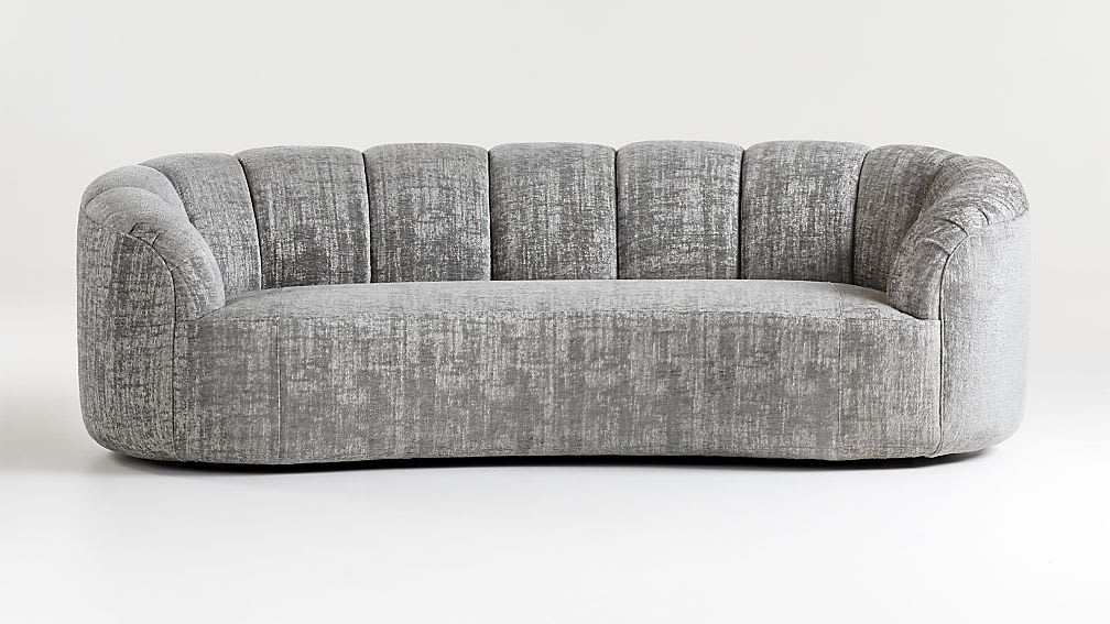 Rouelle Channel Tufted Sofa_Crate & Barrel
