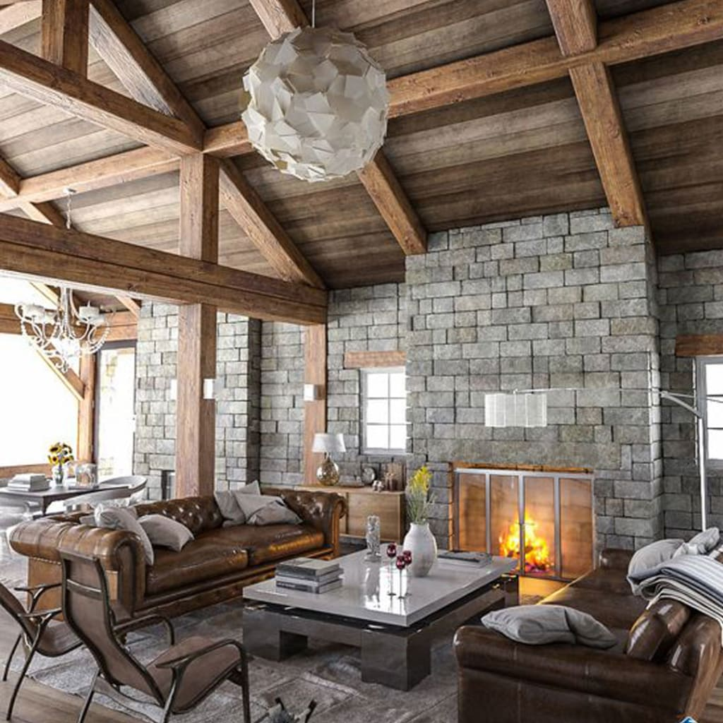 Rustic Modern Decor Living Room