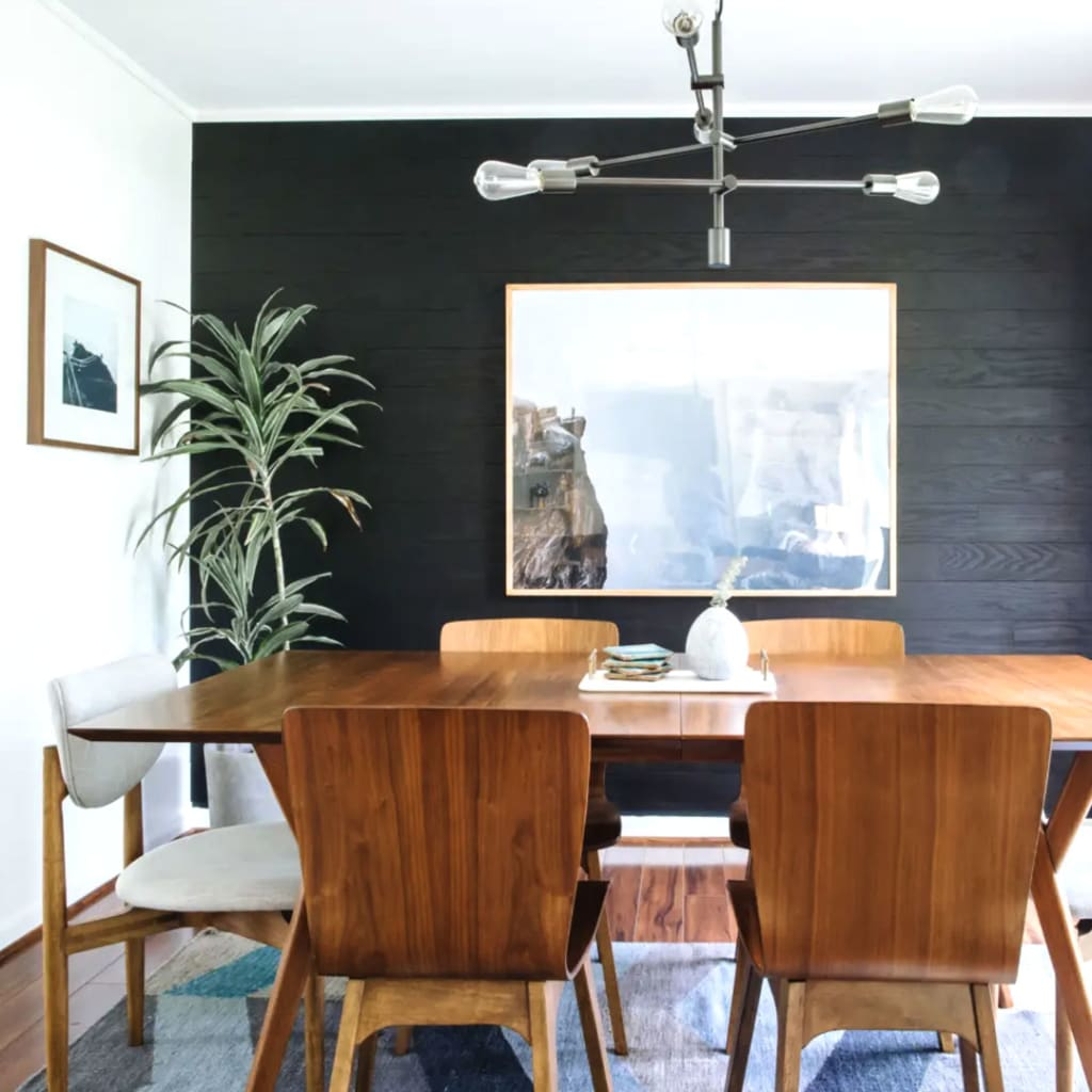 Modern contemporary ceiling lamp