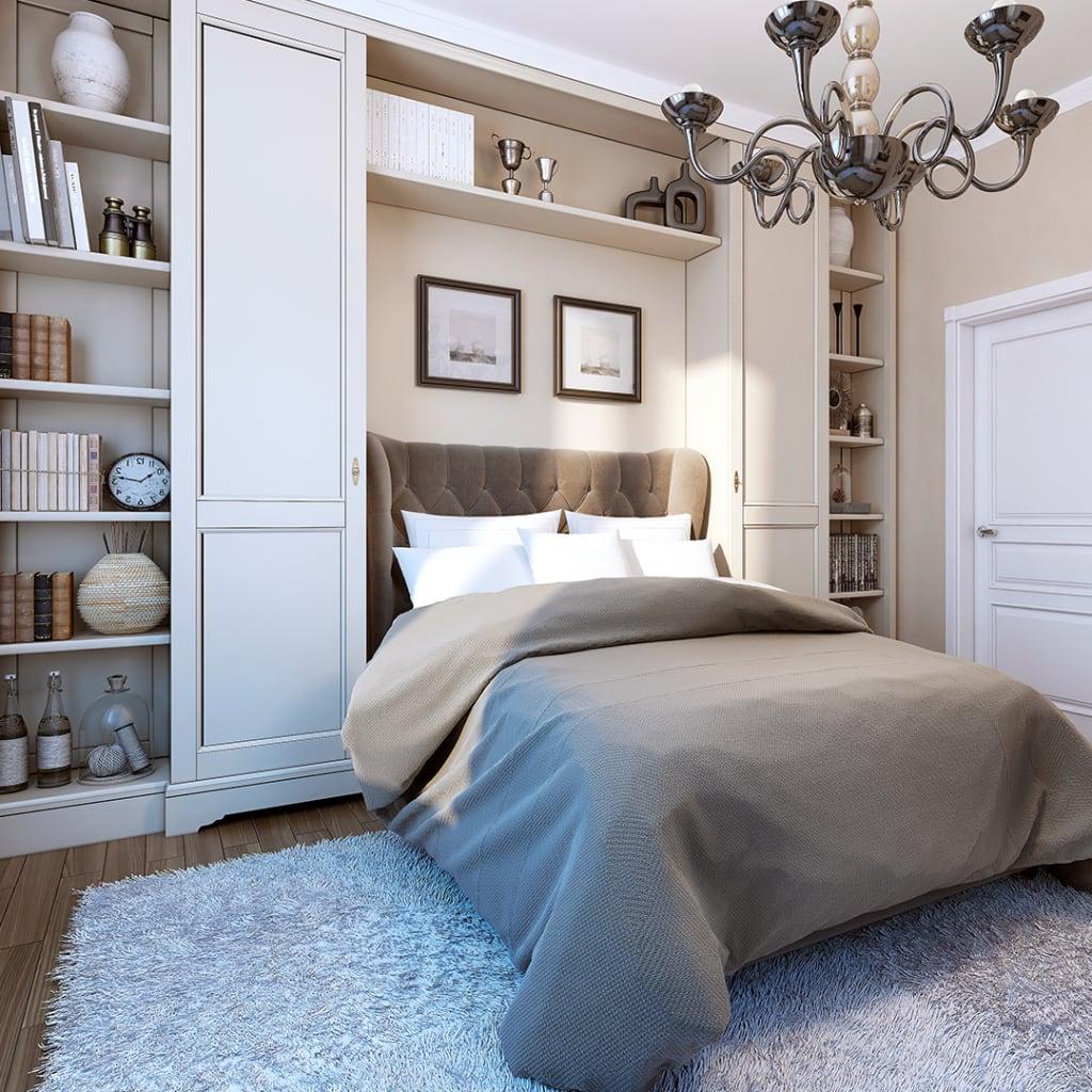 Plush bedroom design