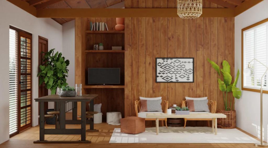 rustic style flooring