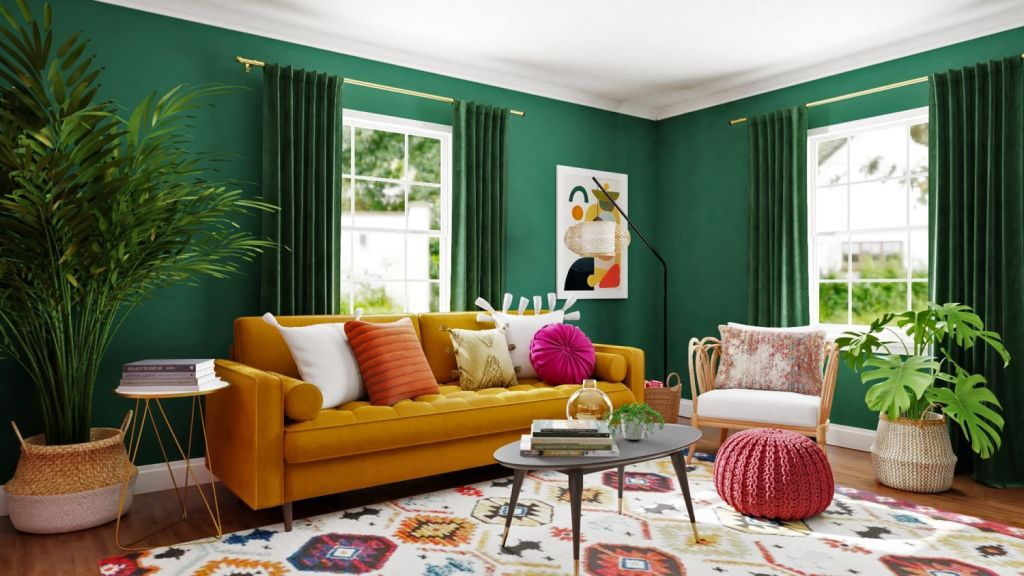 eclectic style color guide
