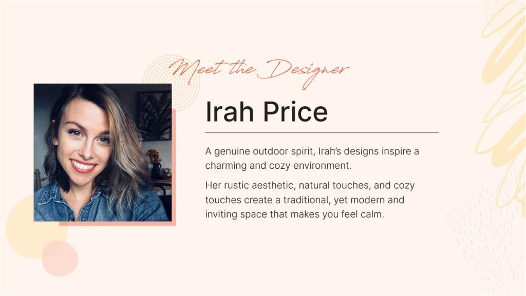 Spacejoy Featured Designer Irah