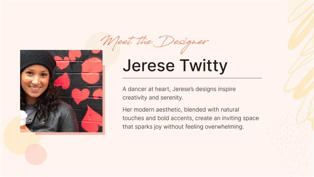 Spacejoy Designer Jerese Twitty
