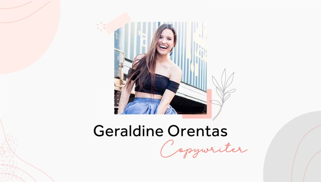 Spacejoy Copywriter Geraldine