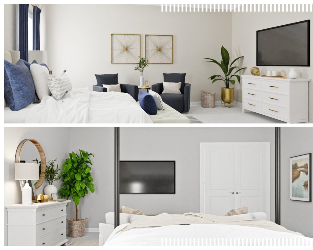 Small Bedroom Design Advice. How to make more space