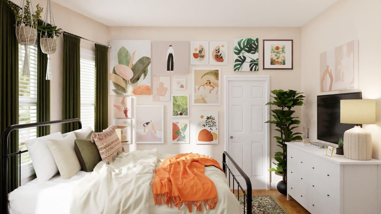 Spacejoy Boho Bedroom