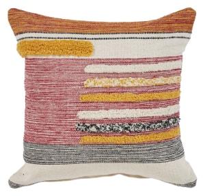 Adler Lined Cotton Throw Pillow