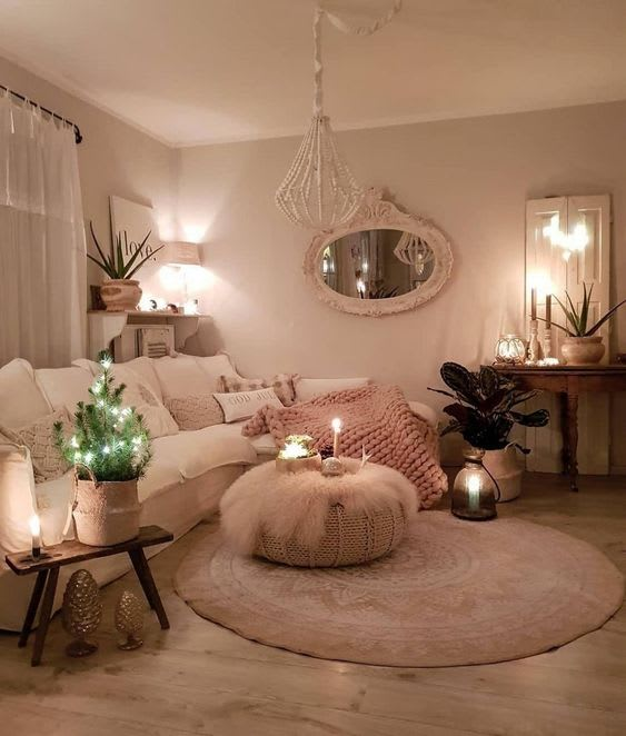 Mirrors as accessories for the living room