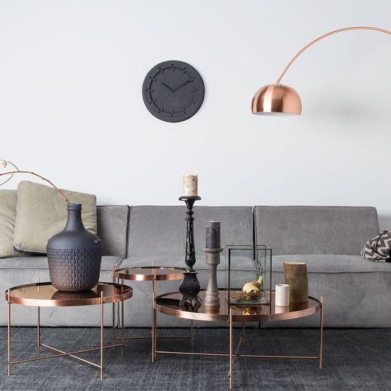 copper interior design ideas