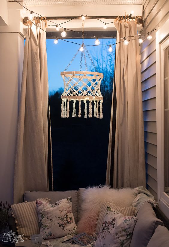 fairy Lights Decoration In Room