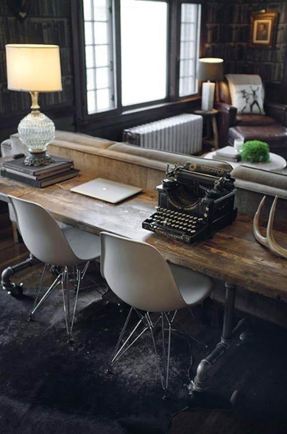 fashioned writing desk