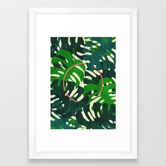Oasis Framed Print