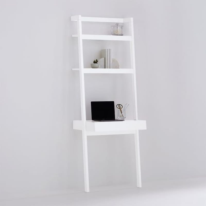 Sawyer White Desk from Crate and Barrel