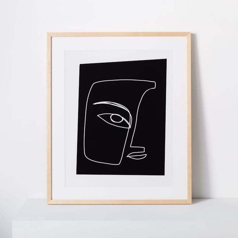 West Elm Art Print