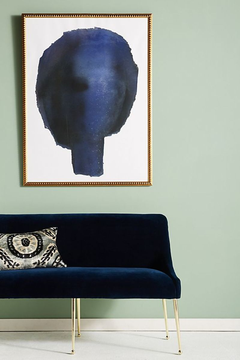 Anthropologie Bluehead art