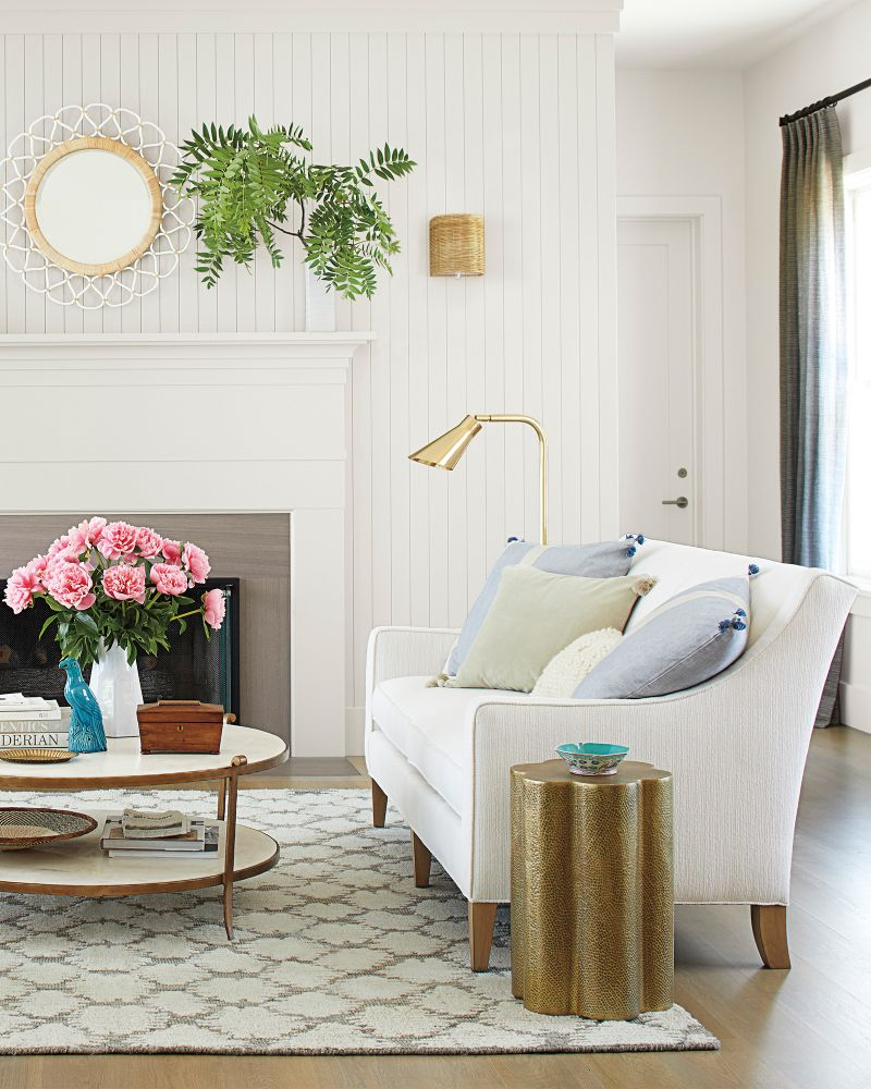 Metallic Accents, Accents For Living Room
