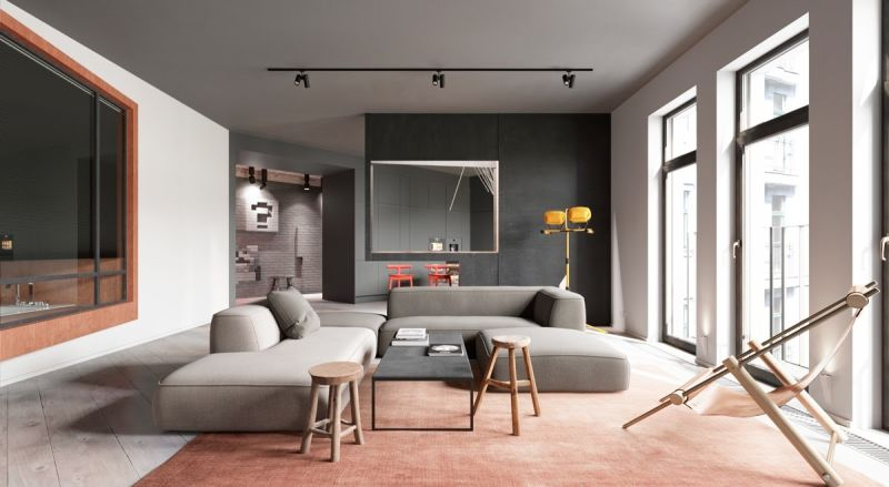 5 Modern Living Room Interior Design & Decor Ideas You Can Steal  Spacejoy