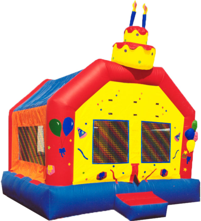 Birthday Cake Bounce 15 X 15ft 13500 INCLUDING DELIVERY SETUP PICKUP For A 24 Hour Reservation