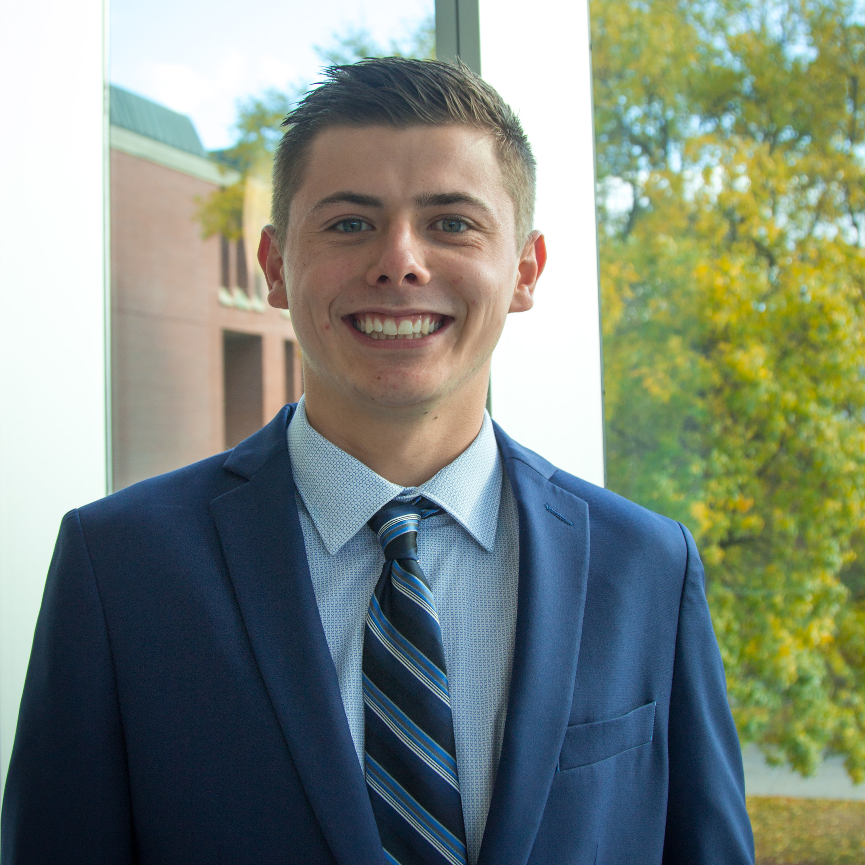 Ethan VanDeHey from University of Wisconsin-Eau Claire