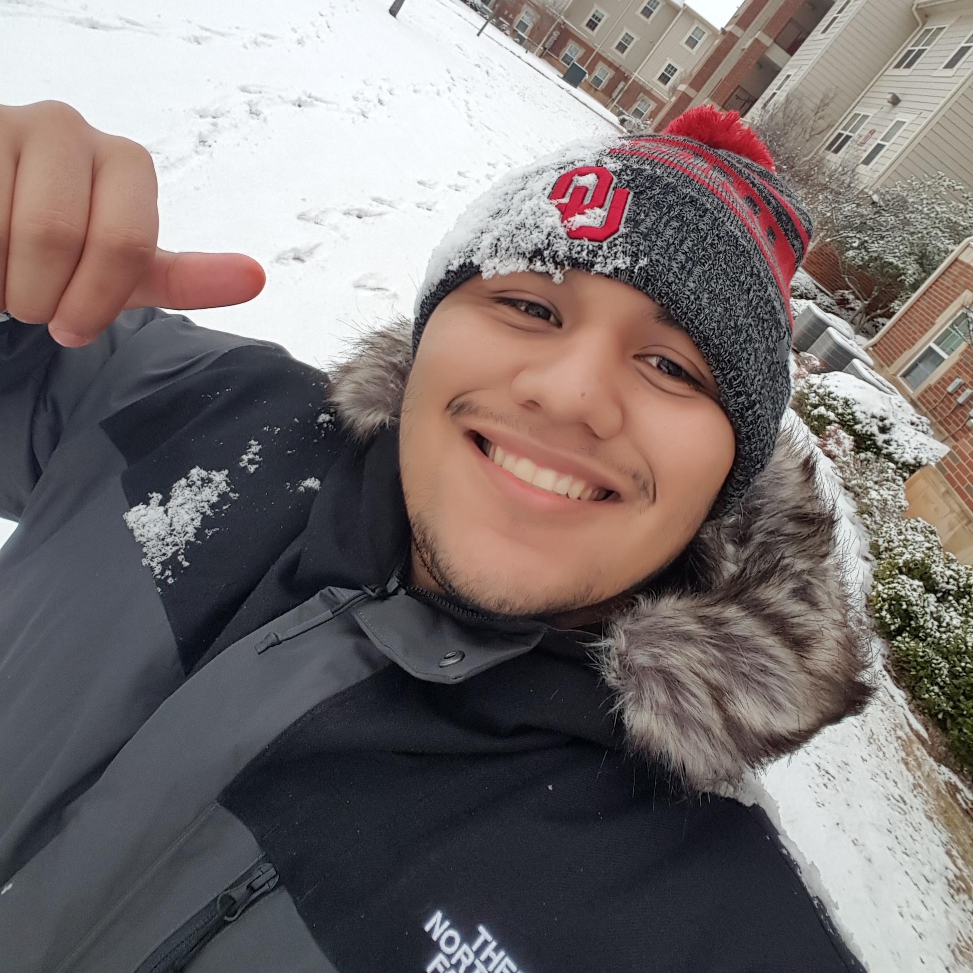 Christian Alvarez from University of Oklahoma