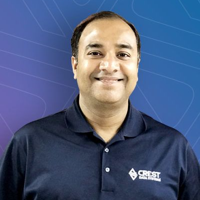 Malhar Shah from Crest Data Systems