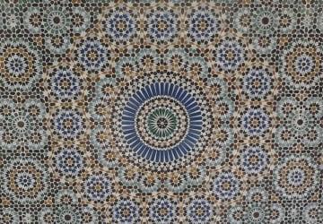 catmoz cathy artiste freelance créations mosaïque tous supports histoire de la mosaique Musulmane