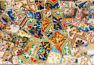catmoz cathy artiste freelance créations mosaïque tous supports histoire de la mosaique moderne